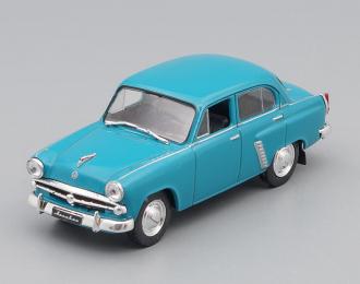 МОСКВИЧ 402, Автолегенды СССР 72, сине-зеленый