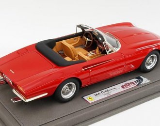 FERRARI 365 California 1966, with display