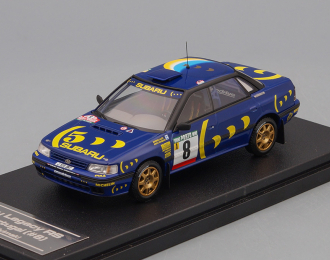SUBARU Legacy RC #8 M.Alen - L.Kivimaki Portugal (1993), blue