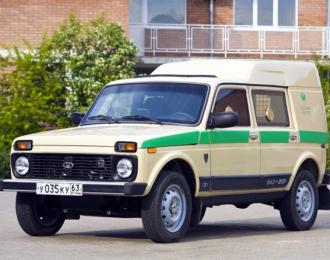 Сборная модель ВАЗ-2131 Бронто-Форс Банкомат