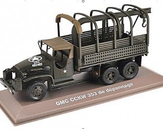 GMC CCKW 353 6х6 US Army Бельгия (1944), хаки
