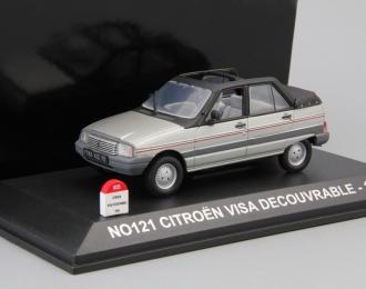 CITROEN Visa Decouvrable кабриолет (1984), silver metal