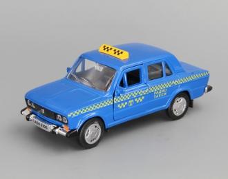 Лада 2106 Радио Такси, синий