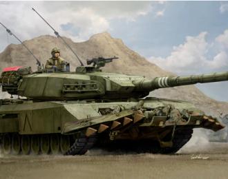 Сборная модель Leopard C2 MEXAS with TWMP Track Width Mine Plow