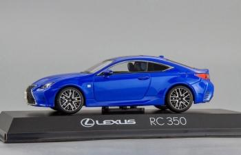 LEXUS RC350 F Sport, blue