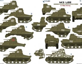Декаль для M3 Lee in Red Army  Part I