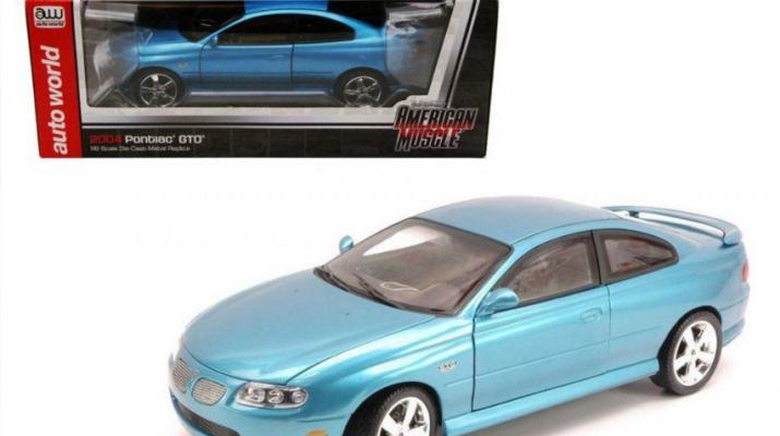 Pontiac GTO (2004), blue