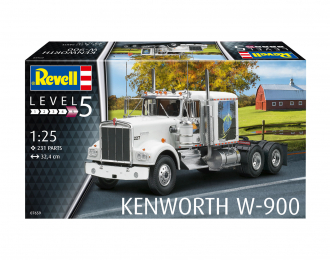 Сборная модель Kenworth W-900