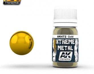 XTREME METAL GOLD (металлик золото)