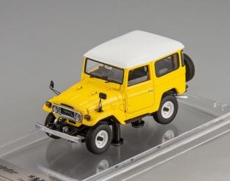 Toyota Land Cruiser 40 (yellow / white roof)