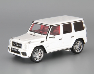 BRABUS B63 620 WIDESTAR 2012 (Mercedes-Benz G-klasse W463, white