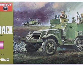 Сборная модель Полугусеничный БТР M3A1