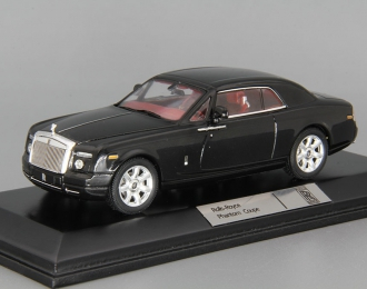 ROLLS-ROYCE Phantom Coupe (2008), black / interior red