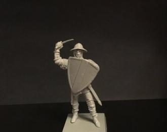 Генуэзский боец с мечем (наемник), войско Мамая (54мм)