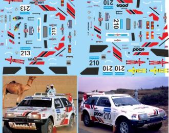 Набор декалей Волжский автомобиль Lada Samara T3 №210 №213