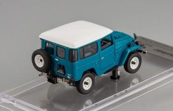 Toyota Land Cruiser 40 (rustic green / white roof)