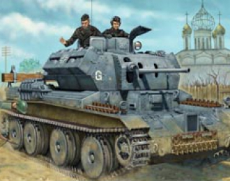 Сборная модель  PanzerKampfwagen Mk IV, 744(e) (A13)