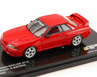 NISSAN Skyline GT-R (R32) Group A (1991), red