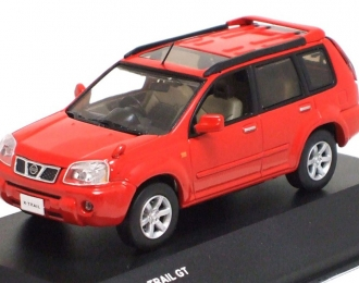 NISSAN X-Trail GT (2005), burning red