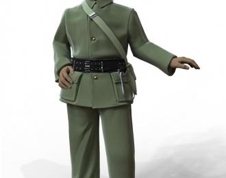 Сборная модель Фигура Пожарный №1