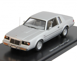 BUICK Regal T-Type (1986), silver