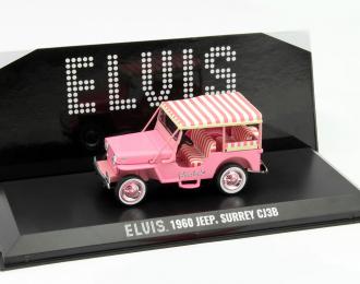 "JEEP Surrey CJ3B Elvis Presley ""Pink Jeep"" (1960), pink"