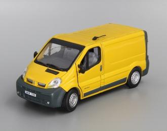 RENAULT Trafic Van фургон (откр.двери), dark yellow