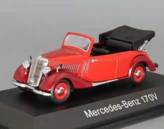 MERCEDES-BENZ 170V Cabriolet, red