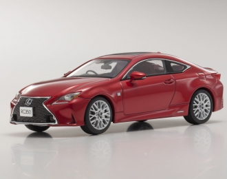 Lexus RC350 F Sport (radiant red)