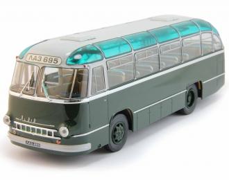 ЛАЗ 695 городской автобус (1956), темно-зеленый