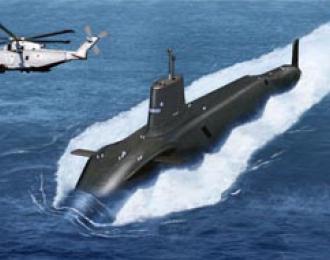 Сборная модель HMS 'Victorius' S-29 (Vanguard Class) SSBN Submarine