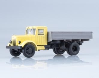 ЯАЗ-200 бортовой, бежевый / серый