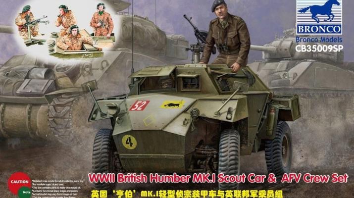 Humber Scout Car Mk. I