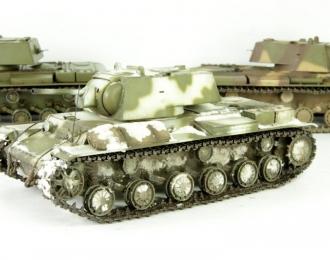 Танк КВ-1 (зимний камуфляж)