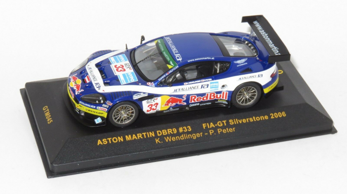 ASTON MARTIN DBR9 #33 FIA GT Silverstone (2006), blue