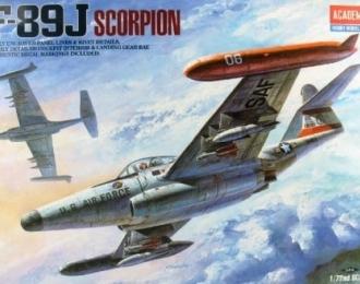 Сборная модель Американский перехватчик Northrop F-89J Scorpion