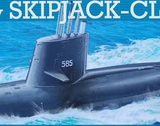 Сборная модель Американская подводная лодка тип SKIPJACK