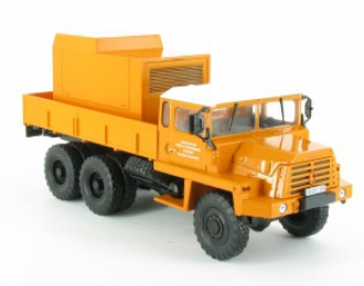BERLIET GBC MT8 (France 1966), серия Camions DAutrefois 73, оранжевый