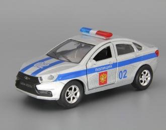 LADA Vesta Полиция, silver