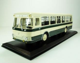(УЦЕНКА!) Ликинский автобус 677 (1967), бежевый с зеленым