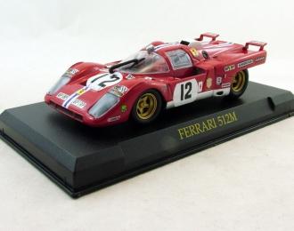 FERRARI 512M (1971), Ferrari Collection 59, red