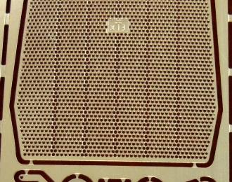 Фототравление Решетка радиатора для Т-150К (ССМ), латунь