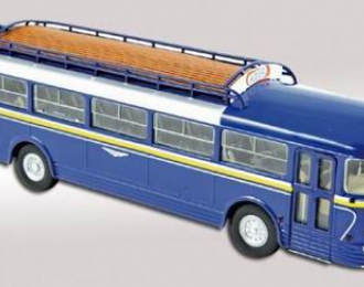 CHAUSSON AP52 Citram автобус (1955), голубой