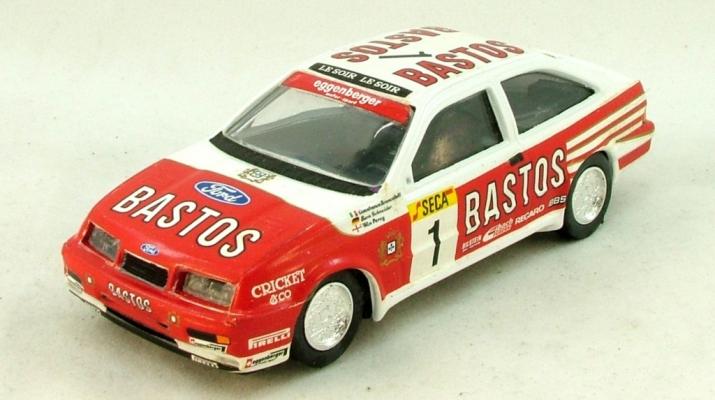 "FORD Sierra Cosworth ""Bastos"", белый с красным"