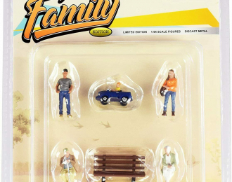 Mijo Figures Family Set