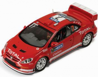 PEUGEOT 307 WRC 7 M.Gronholm-T.Rautianen Winner Rally Finland 2005, red