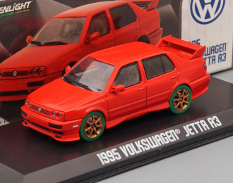 VOLKSWAGEN Jetta III (1995), red (Greenlight!)