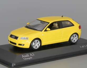 AUDI A3 (2003), yellow