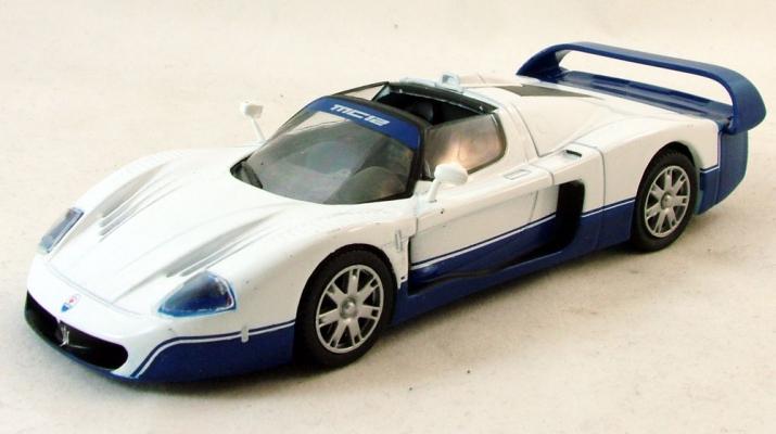MASERATI MC12, Суперкары 75, синий