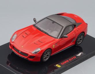 FERRARI 599 GTO (2010), red / grey